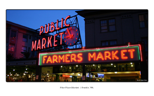 Public Market Sign Wallpaper Thumb